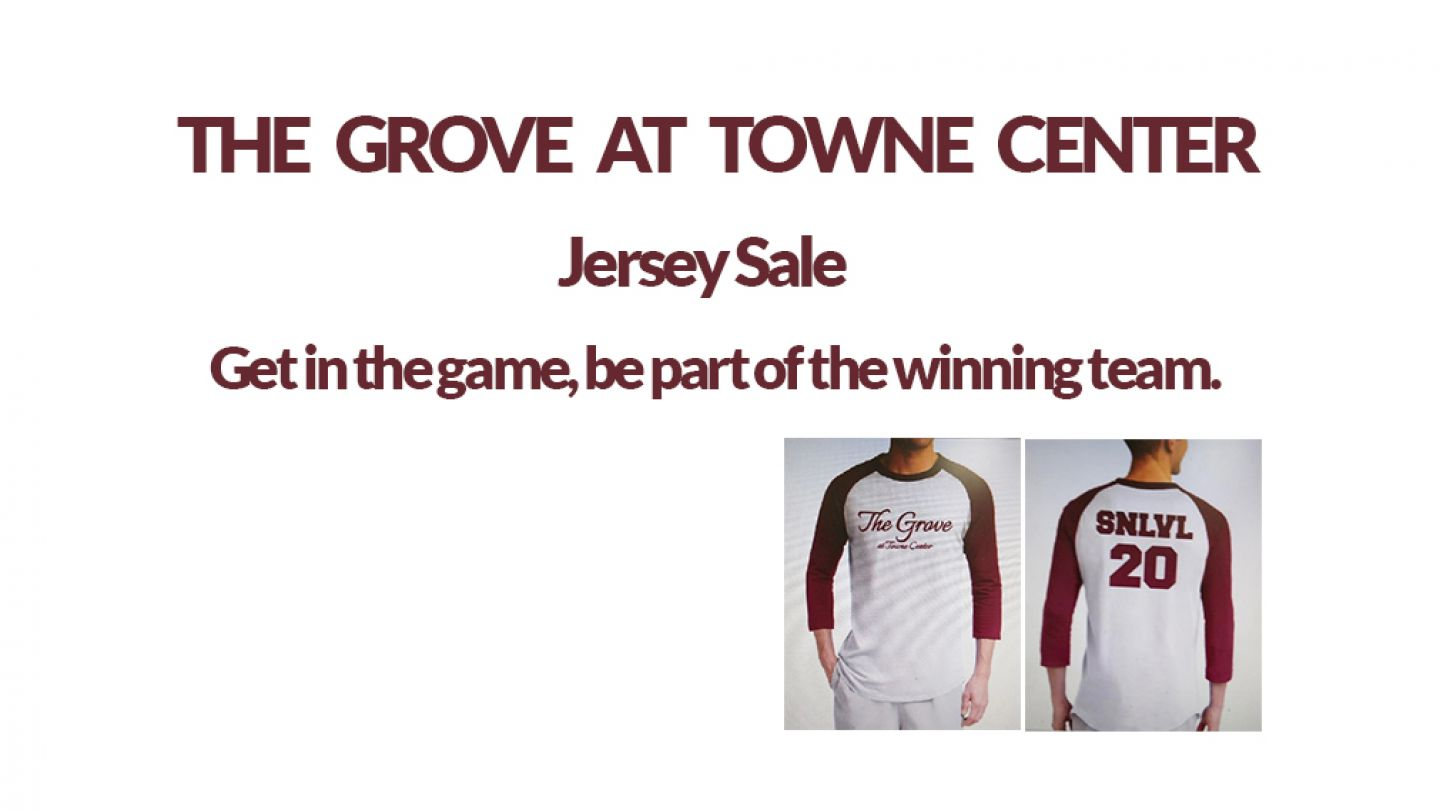The Grove at Towne Center Jersey Sale
