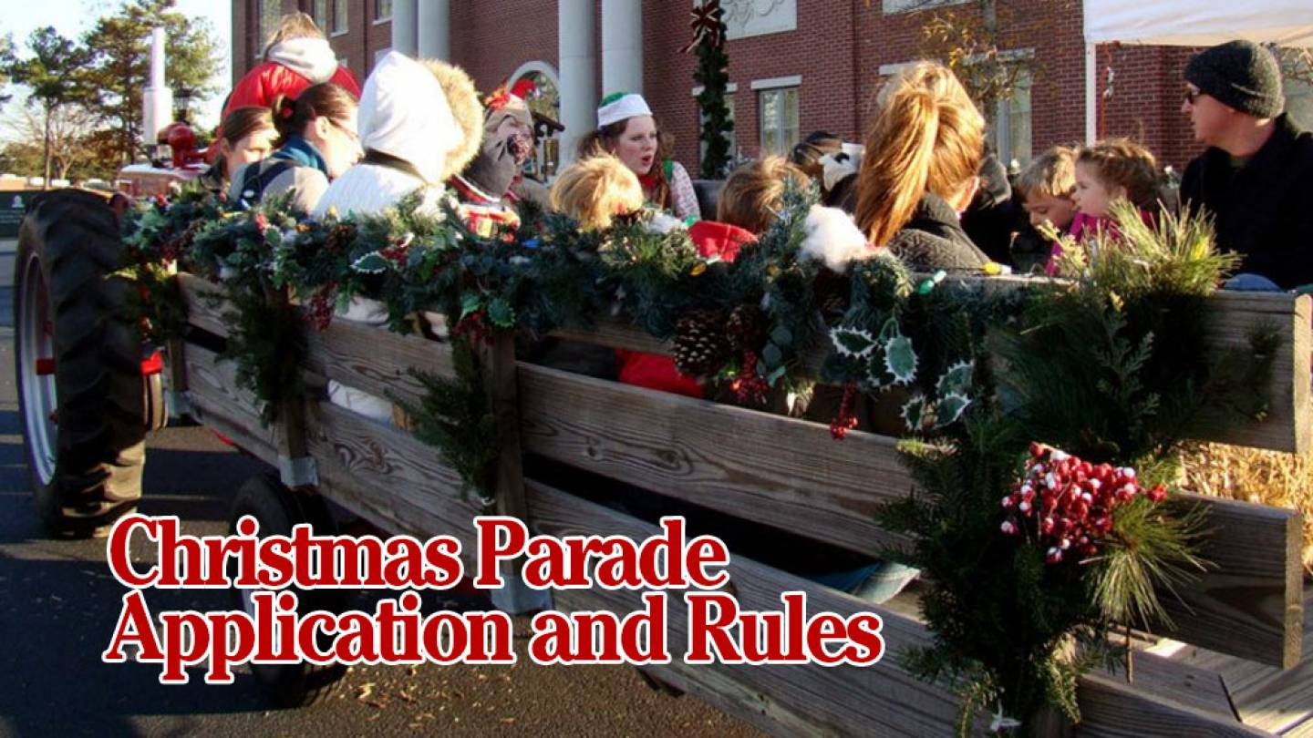 4th Annual Snellville Lighted Christmas Parade Application