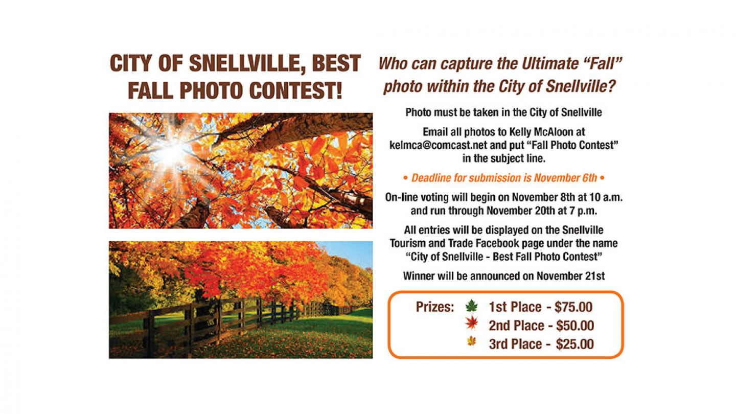 Fall Photo Contest