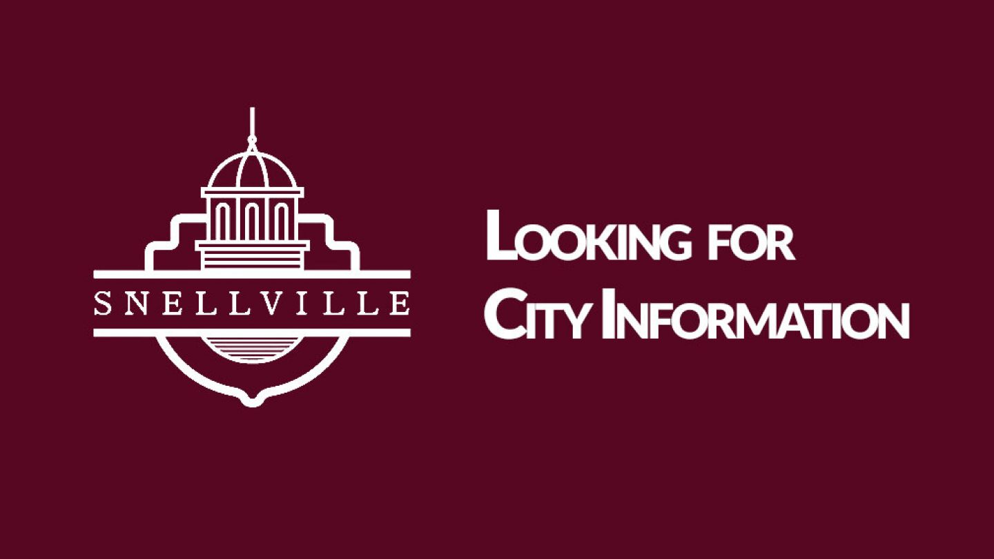 City of Snellville Website